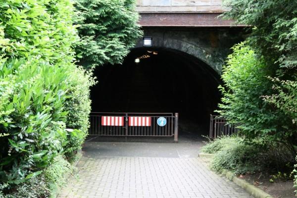 Tunel na dawnej linii kolejowej