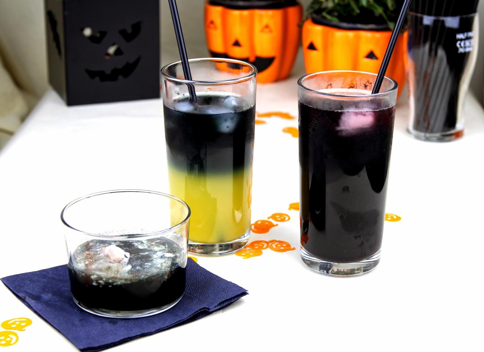 halloween, drinki na halloween, halloweenowe drinki,