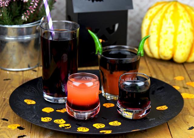 drinki na halloween, drinki halloweenowe, drinki, koktajle, halloween,
