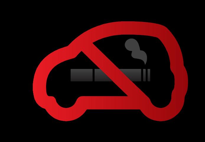 Zakaz palenia w samochodzie