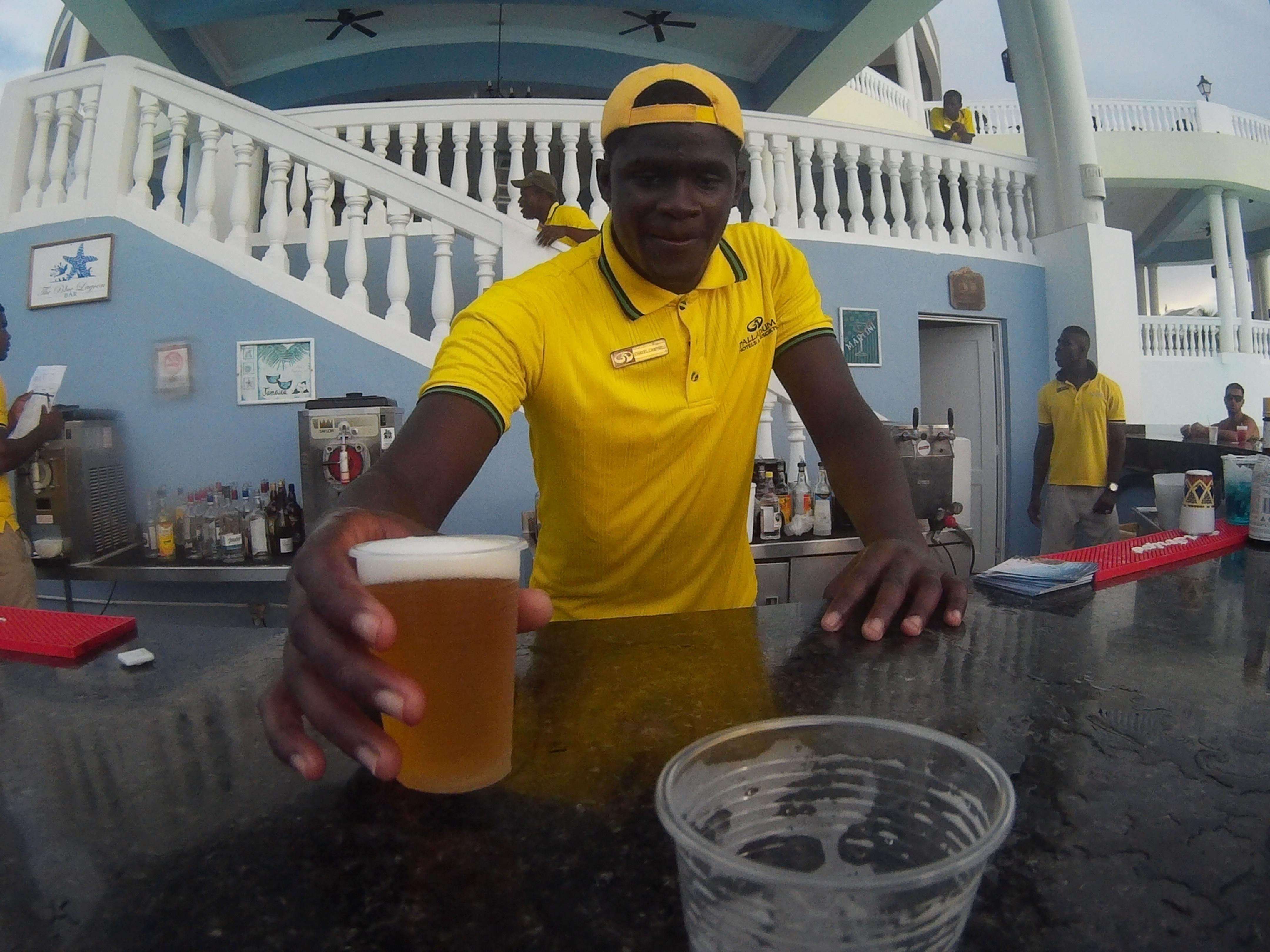 Bar na basenie Jamajka