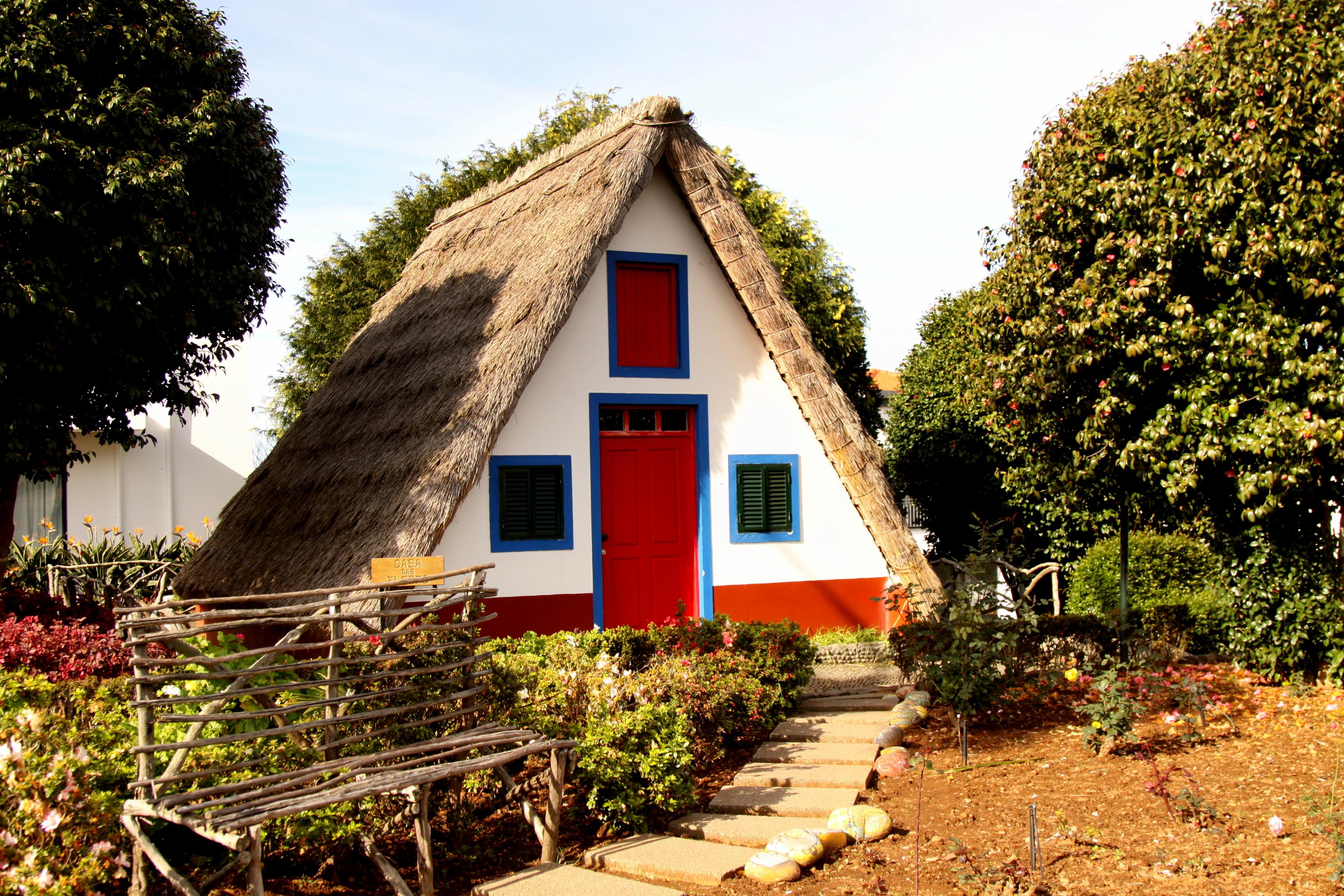 domki na Maderze