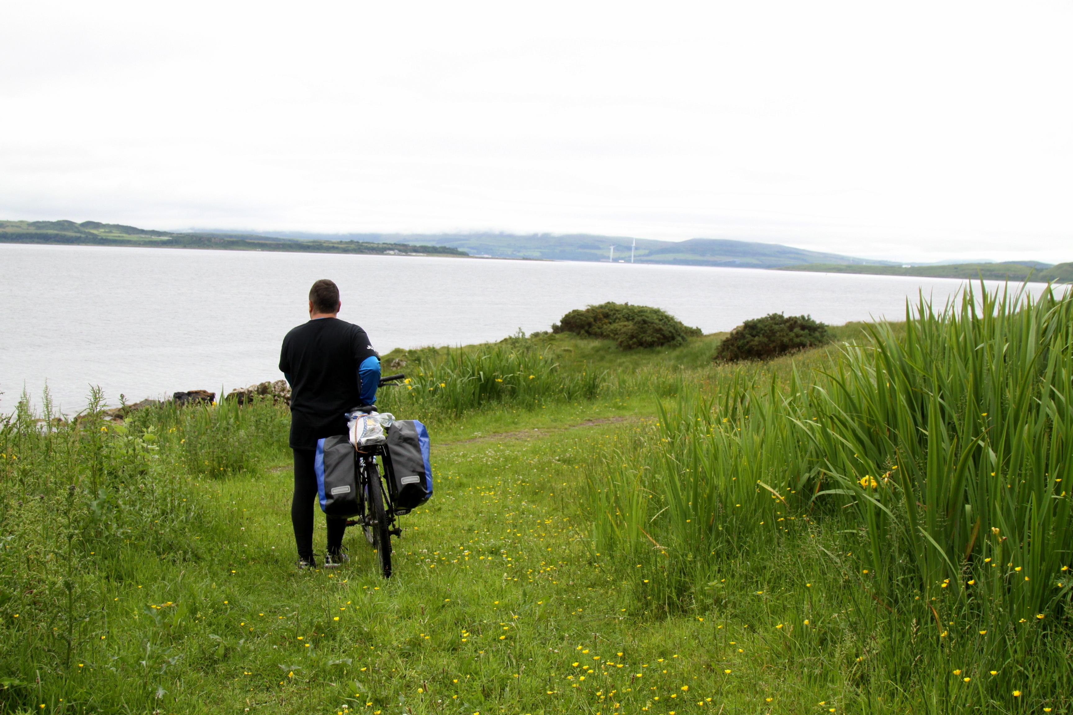 rowerem po szkocji