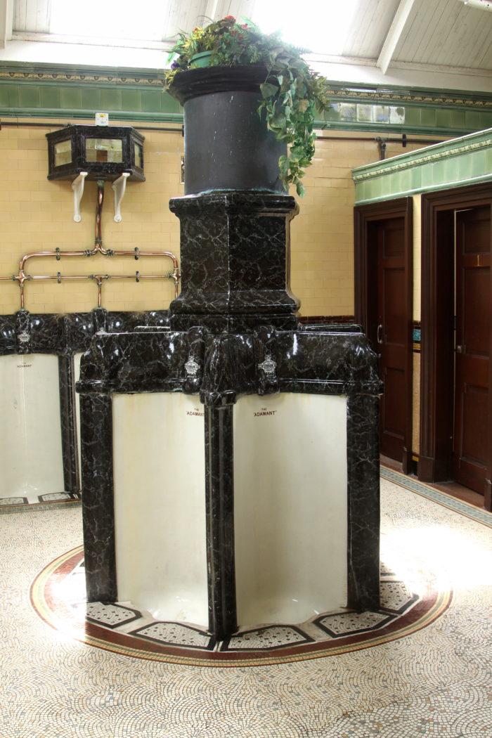 wiktorianska toaleta