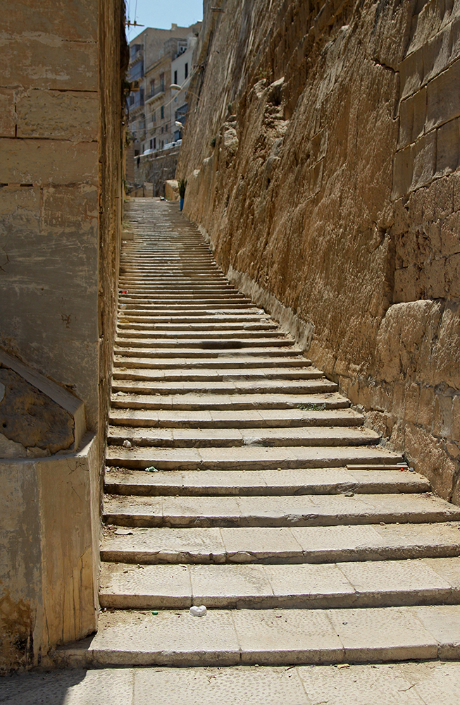 uliczka w Valletcie