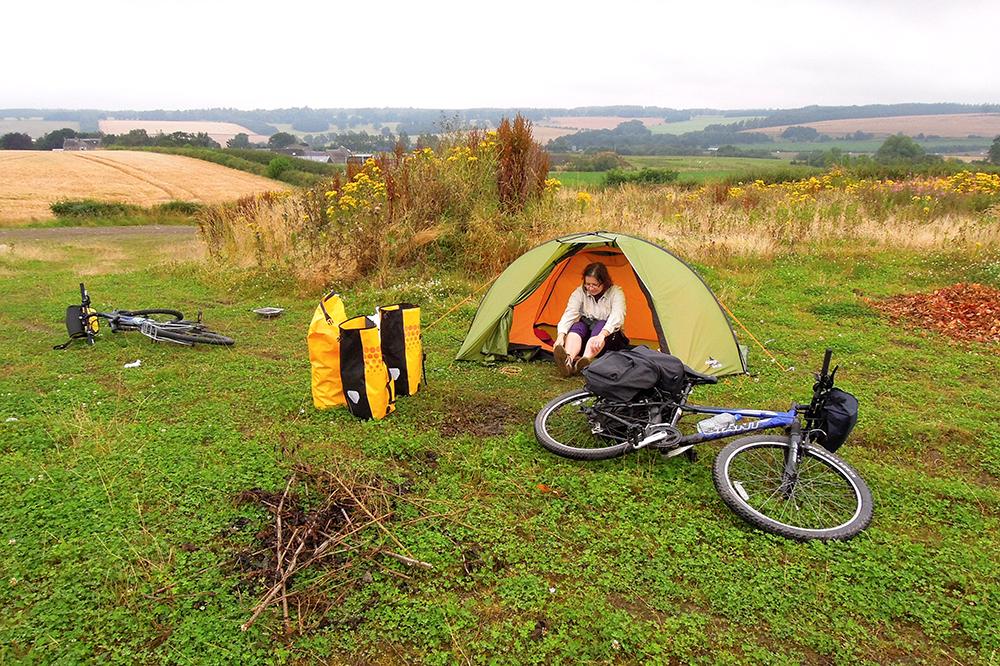 gdzie rozbic namiot szkocja