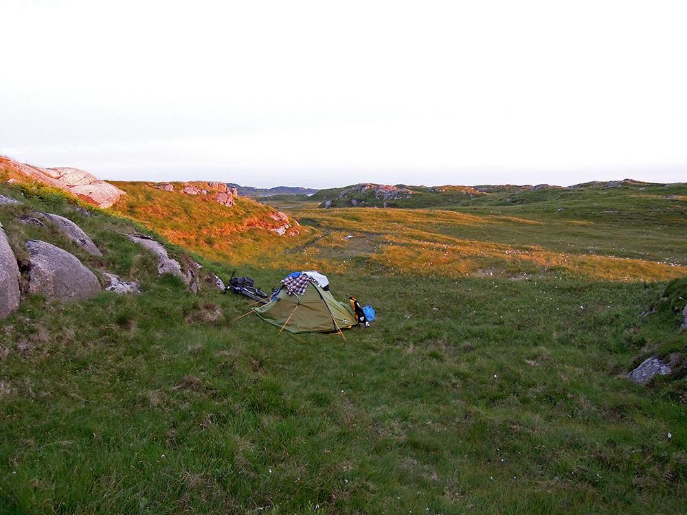 wild camping szkocja