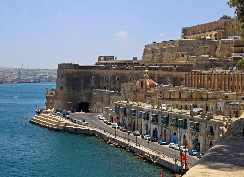 Spacer po Valletcie