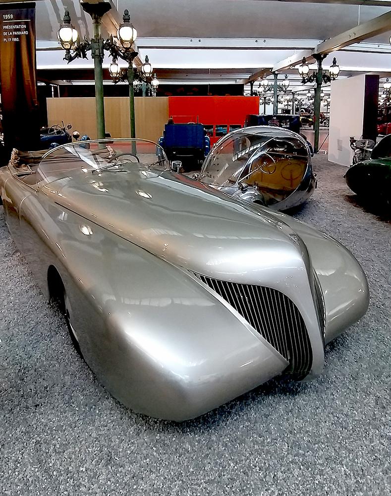 muzeum samochodow prototyp