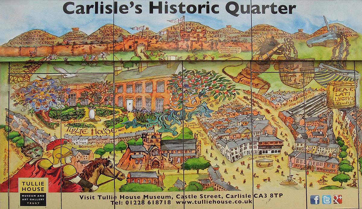 Carlisle co zwiedzic