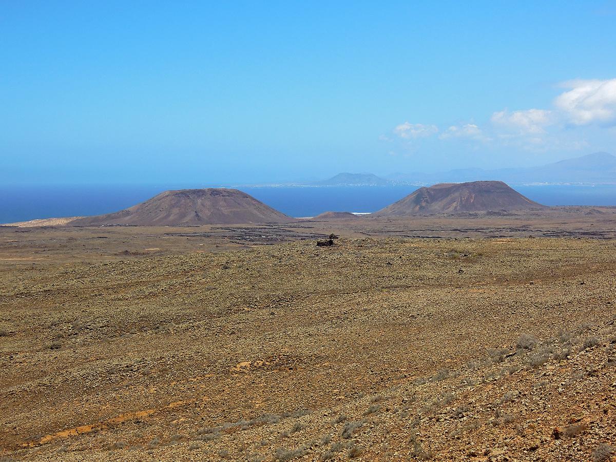 fuerteventura stozki wulkaniczne