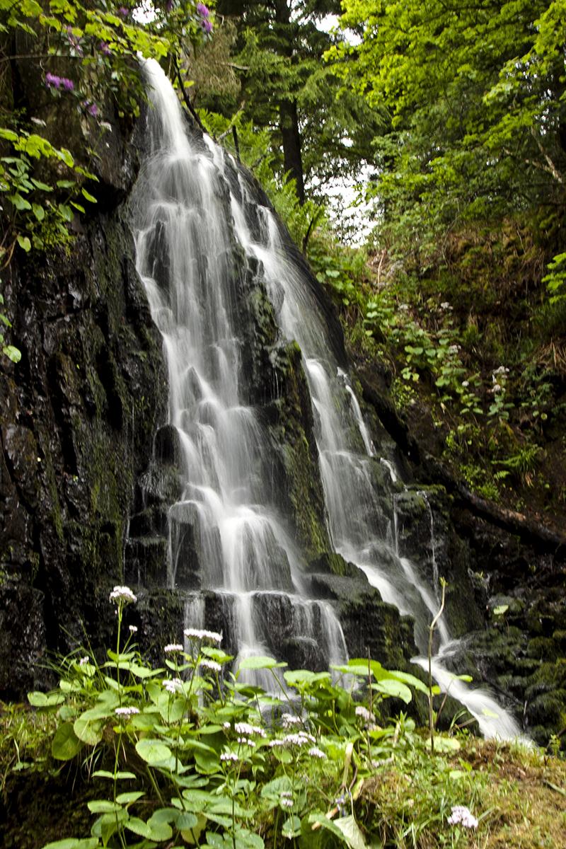 wodospady na rzece Linhouse