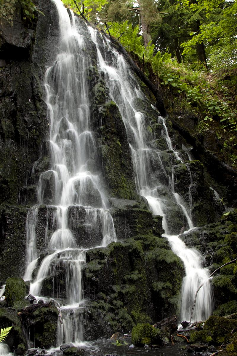 wodospad na rzece Linhouse