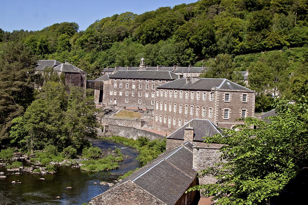 New Lanark miasteczko