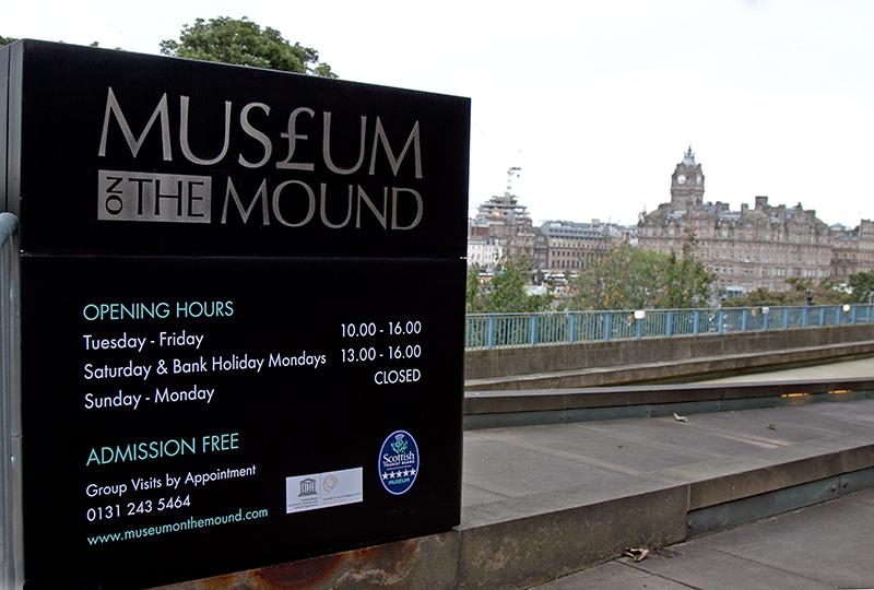 darmowe muzeum Edynburg