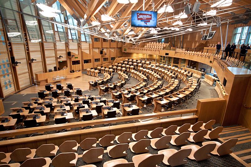 szkocki parlament darmowe atrakcje edynburga