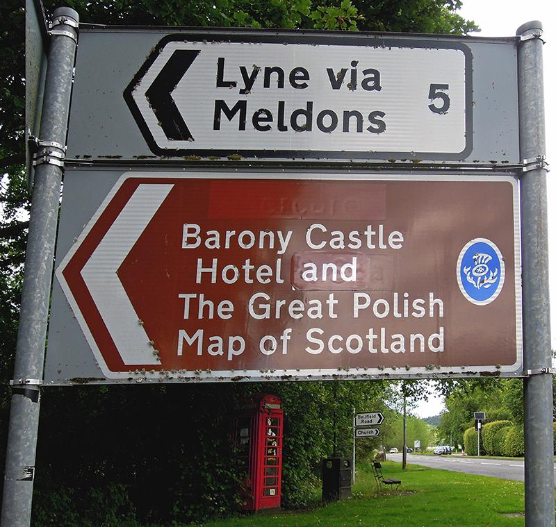 wielka mapa szkocji jak dojechac