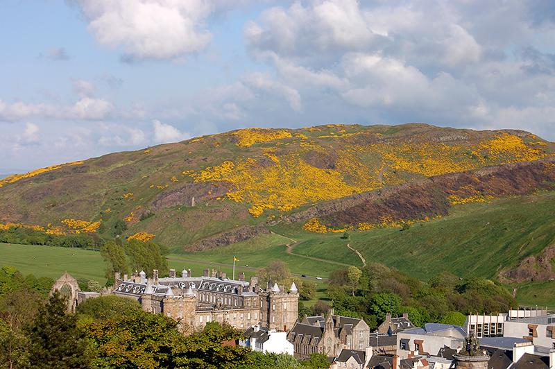 najlepszy widok Edynburg