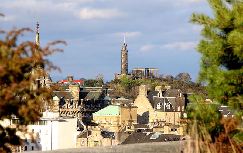 wisok z tarasu muzeum szkockiego