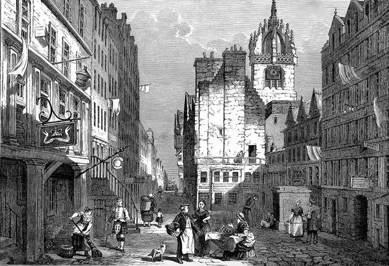 Old Tolbooth na Royal Mile