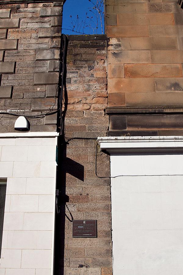 mury miejskie Edynburg