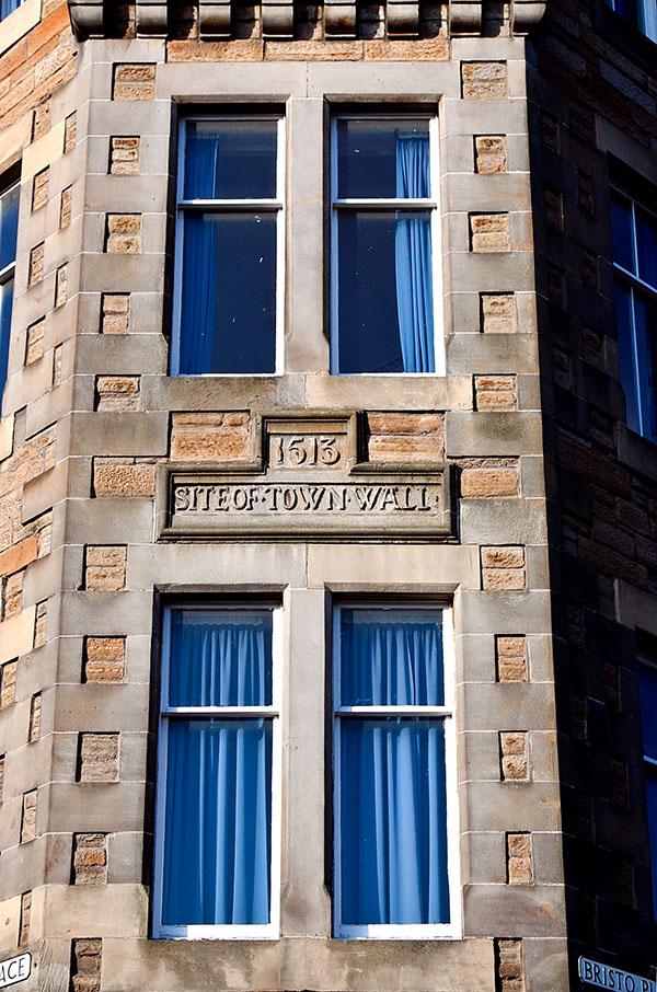 mury miejskie w Edynbugu