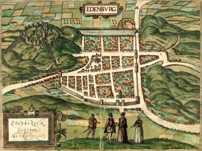 plan Edynburga