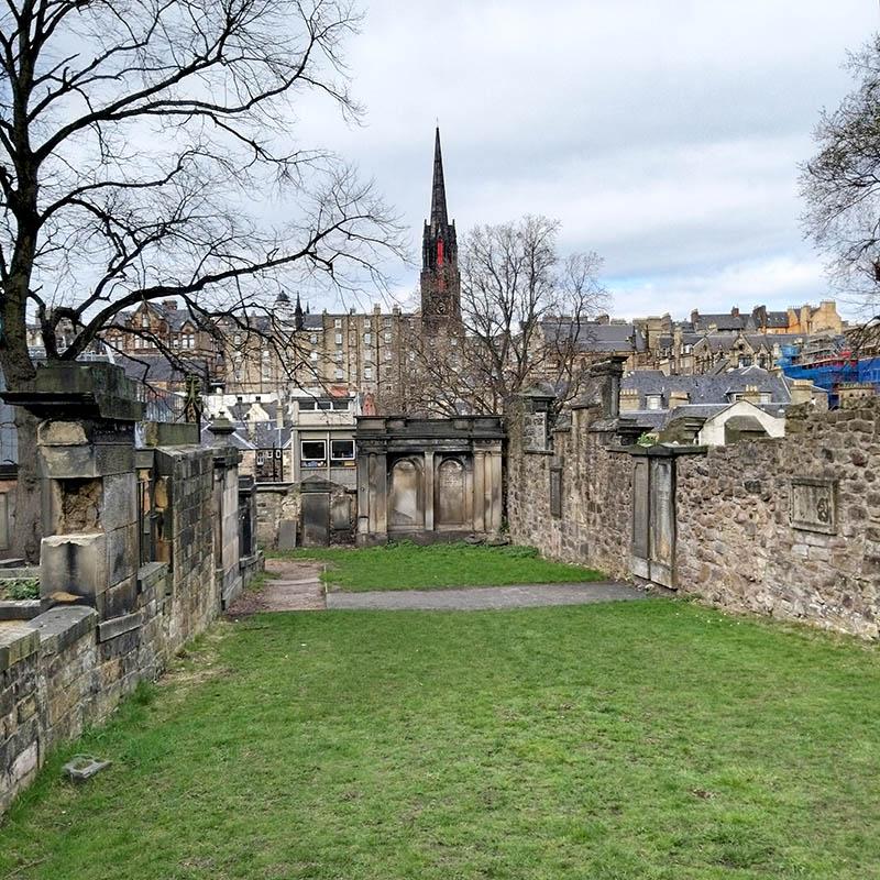 Cmentarz Greyfriars Edynburg śladami Harego Pottera
