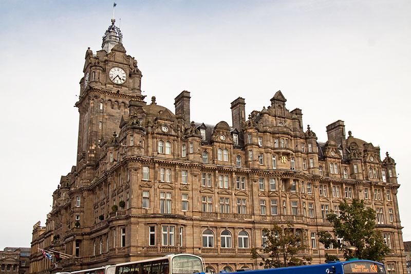 Harry Potter J. K. Rowling hotel Balmoral