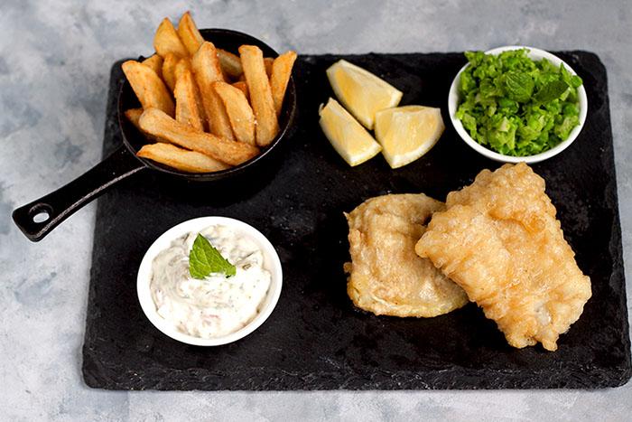 szkockie danie ryba z frykami