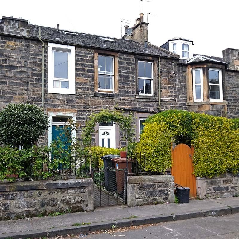 domy robotnicze w Edynburgu - colonies