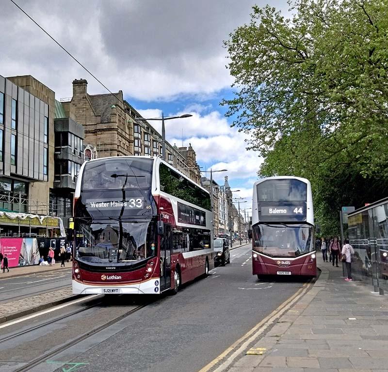 komunikacja miejska w Edynburgu