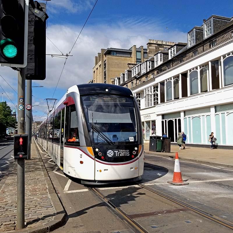 Tramwaj Edynburg