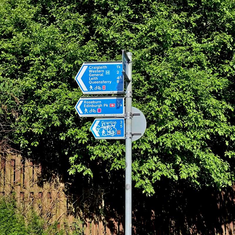 wycieczka rowerowa do North Queensferry