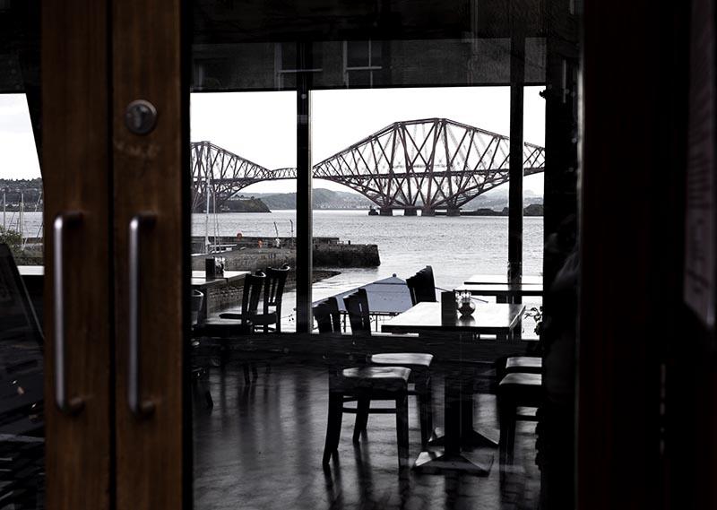 restauracja z widokiem Queensferry