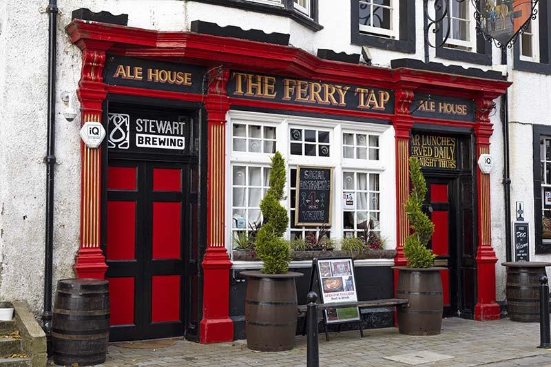 szkocki pub